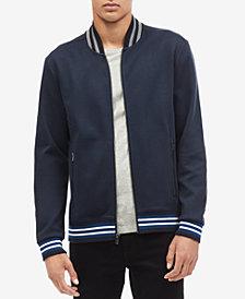 Calvin Klein Men's Contrast-Collar Bomber Jacket