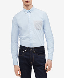 Calvin Klein Men's Contrast Pocket Shirt