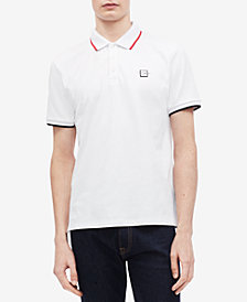Calvin Klein Men's Contrast Tipped Polo