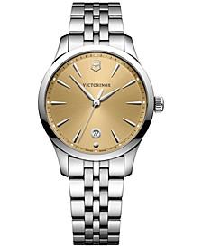 Women's Swiss Alliance Small Stainless Steel Bracelet Watch 35mm