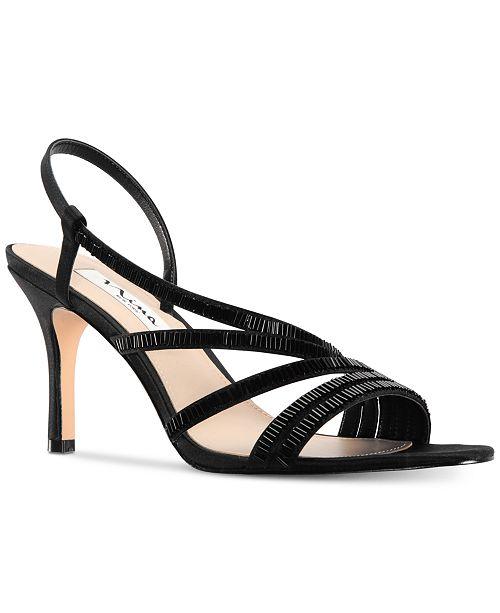 7d35d7a32 Nina Amani Evening Sandals & Reviews - Sandals & Flip Flops - Shoes ...