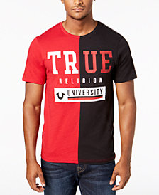 True Religion Men's Colorblocked Graphic T-Shirt