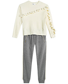 Epic Threads Big Girls Chenille Sweater & Jogge Pants, Created for Macy's