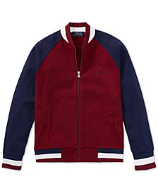 Polo Ralph Lauren Big Boys Cotton Baseball Jacket