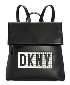 DKNY Tilly Tile Logo Backpack, Created for Macy's