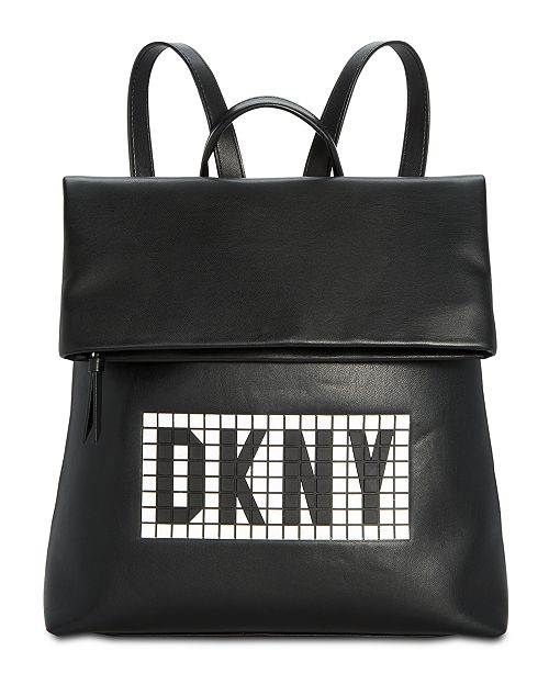 6aa8b892f881 ... DKNY Tilly Tile Logo Backpack