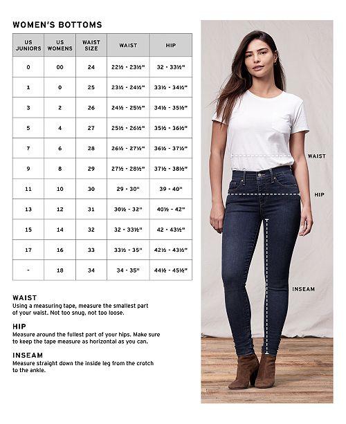 6672cd97076b Levi's Mile High Super Skinny Jeans & Reviews - Jeans - Women - Macy's