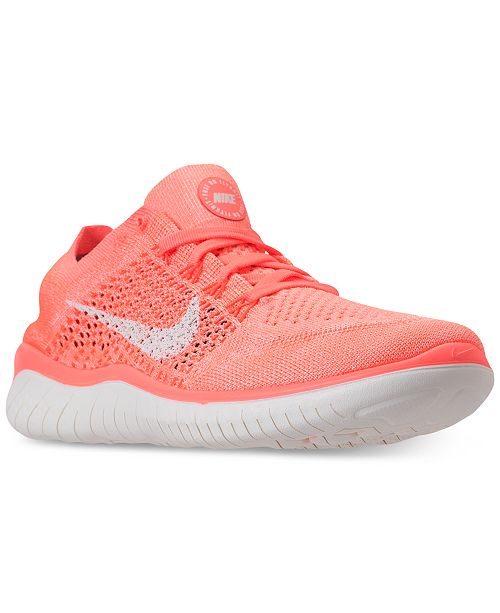 a3492d854b3 ... Nike Women s Free Run Flyknit 2018 Running Sneakers from Finish Line ...