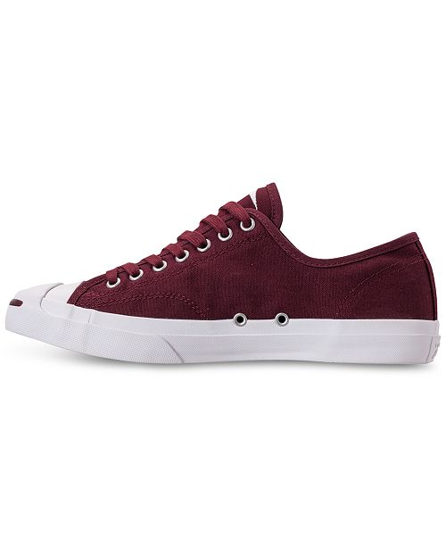 13cafca2d04c ... Converse Men s Jack Purcell Jack Ivy Campus Low Top Casual Sneakers  from Finish ...