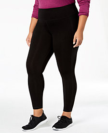 Ideology Plus Size Slimming Ankle Pants, Created for Macy's