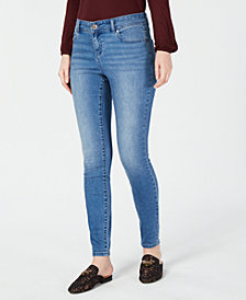 I.N.C. Curvy Eco-Friendly Skinny Jeans, Created for Macy's