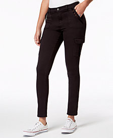 American Rag Juniors' Skinny Cargo Pants, Created for Macy's