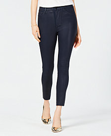 Joe's Jeans The Coated Charlie Ankle Skinny Jeans