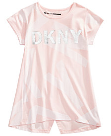DKNY Big Girls Logo-Print T-Shirt