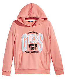 GUESS Big Girls Fleece Hoodie