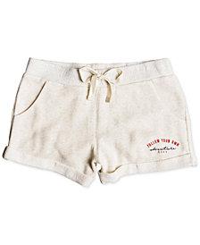 Roxy Big Girls Rolled-Hem Shorts