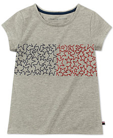Tommy Hilfiger Big Girls Star-Print T-Shirt