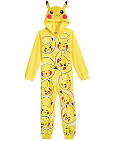 AME Big Boys Pokémon One-Piece Pajamas