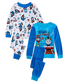Thomas & Friends Toddler Boys 4-Pc. Cotton Pajamas Set