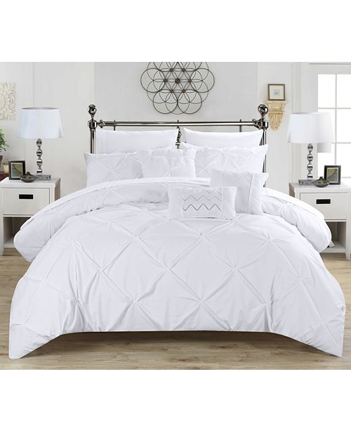 Chic Home Hannah Bed In a Bag Comforter Set Collection