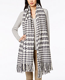 Weekend Max Mara Jimmy Printed Fringe-Trim Scarf