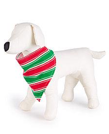 Matching Family Pajamas Crushed It Stripe Pet Bandana, Created for Macy's