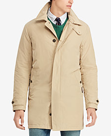 Polo Ralph Lauren Men's Big & Tall Letterman Down Jacket