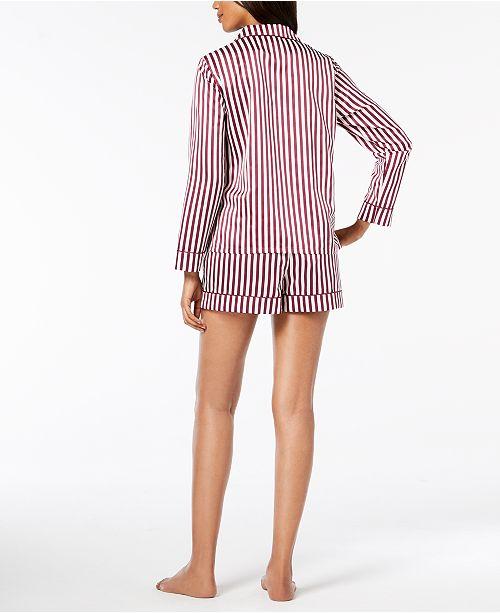 Medallion Created Macy's Set for Printed Alfani Pajama Shorts wFn0RqI