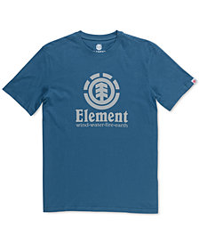 Element Men's Vertical Push Logo Graphic T-Shirt