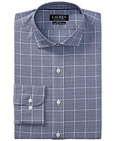 Lauren Ralph Lauren Men's Slim Fit Houndstooth Dress Shirt