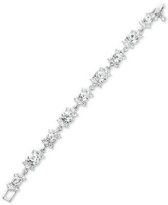 Silver Tone Crystal Flex Bracelet by Givenchy