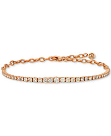 Le Vian® Diamond Bracelet (2 ct. t.w.) in 14k Rose Gold