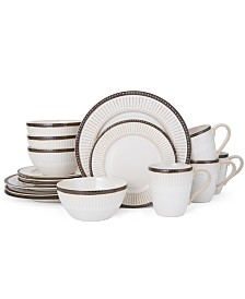 Pfaltzgraff 16-Pc. Promenade Column Dinnerware Set