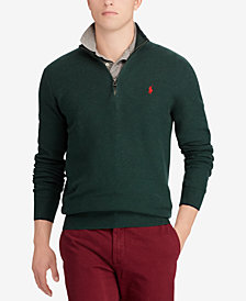 Polo Ralph Lauren Men's Textured Half-Zip Sweater