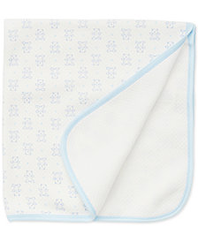 Little Me Baby Boys Bear Blanket