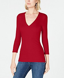 INC Ribbed Top, Created for Macy's