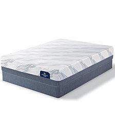 Serta Perfect Sleeper 13'' Weyburn Hybrid Luxury Firm Mattress Set- California King