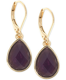 Nine West Stone Drop Earrings