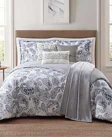 Jennifer Adams Brooktree King 7-Pc. Comforter Set