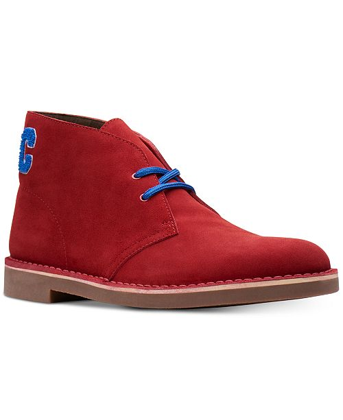 Clarks Men's Limited Edition Varsity Suede Bushacres, Created for Macy's