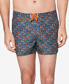 "Original Penguin Men's Floral 3"" Swim Trunks"