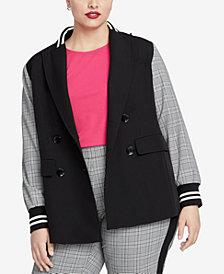 RACHEL Rachel Roy Trendy Plus Size Peyton Blazer