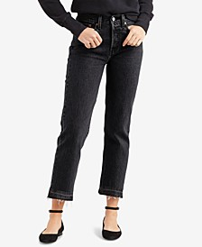 Women's Wedgie Straight-Leg Cropped Jeans