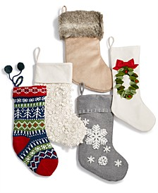 Stocking Collection, Created for Macy's