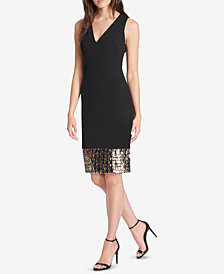 Vince Camuto Embellished Sheath Dress