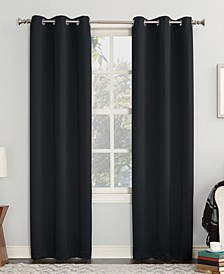 "Preston 40"" x 63"" Grommet Top Blackout Curtain Panel"