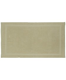 "Charleston Organic Cotton 17"" x 24"" Bath Rug"