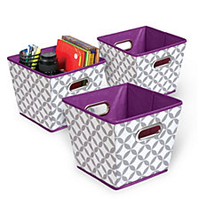 3-Pack Bins, Multi