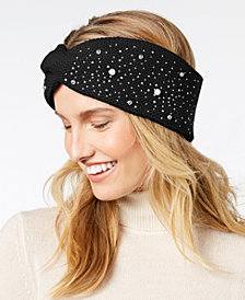 I.N.C. Shine Like the Night Head Wrap, Created for Macy's