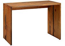 "48"" Rustic Reclaimed Wood Entry Table - Amber"